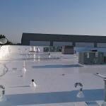Ironwood Center After- 60MIL TPO Membrane